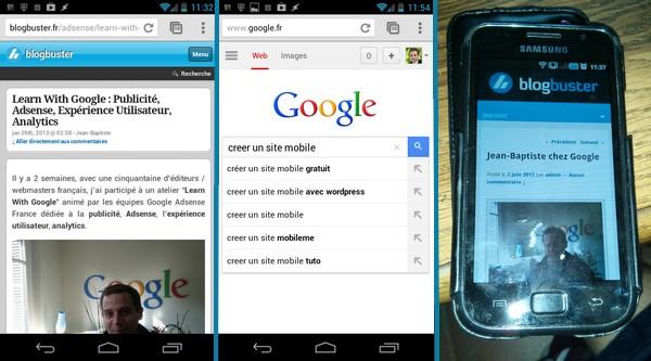 Cr er un site mobile gratuit optimis pour google for Site architecture gratuit