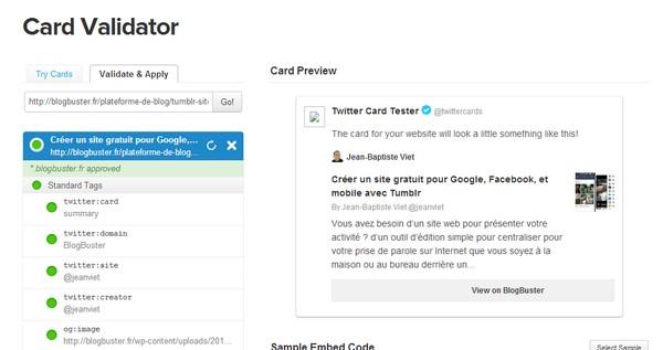 twitter-card-validtaor