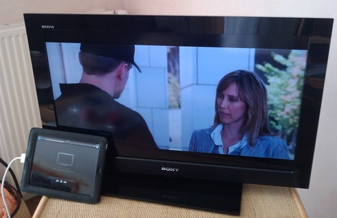 how to connect ipad netflix to samsung tv