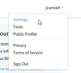 settings-bitly