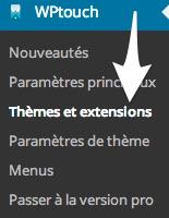 WPtouch-menu
