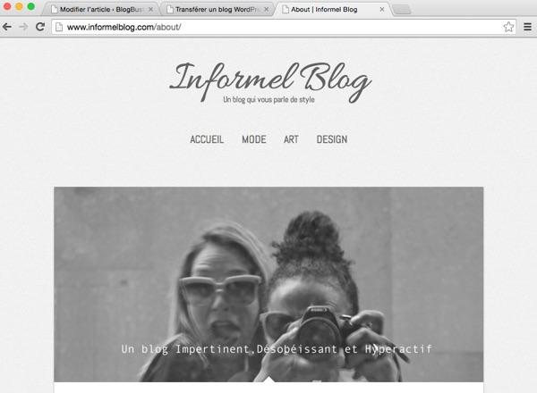 informel blog