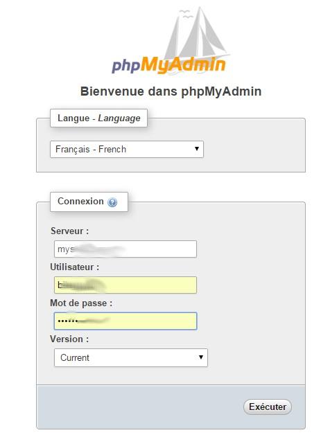 phpmyadmin-ovh