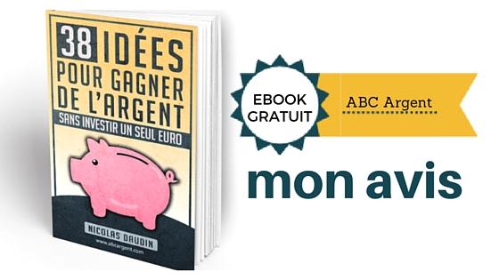 e-book ABC Argent mon avis