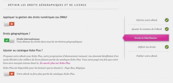 droits-Kobo ebook