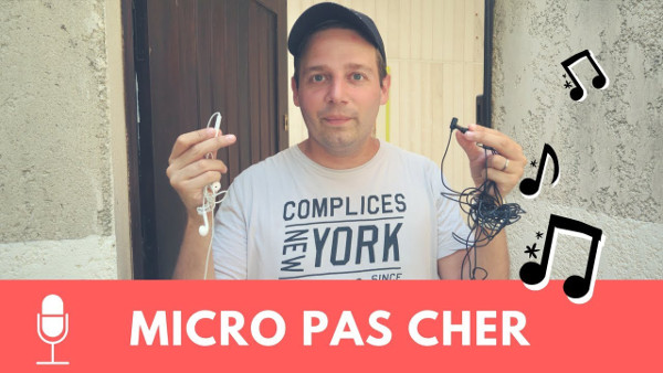micro pour youtube