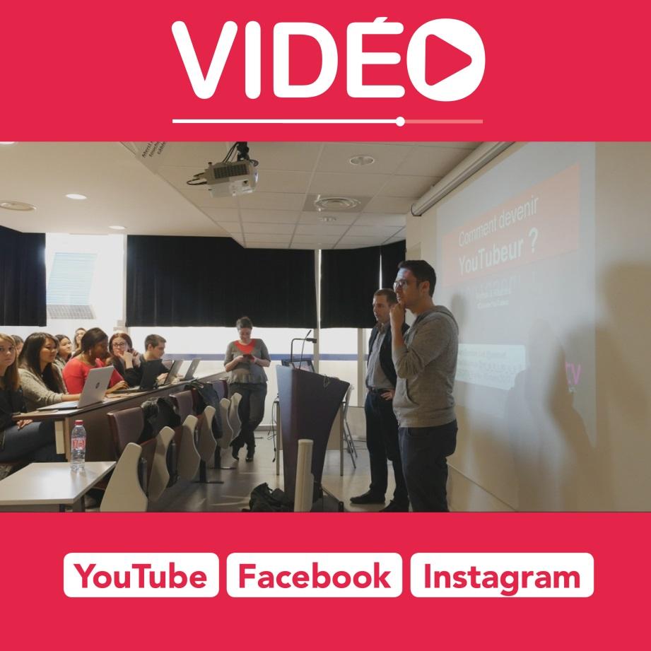 vidéo carrée pour émerger sur Facebook, Instagram